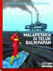 Cover Majalah TEMPO ED 4468 16–22 April 2018