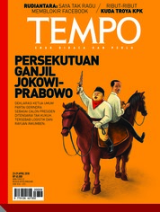 Cover Majalah TEMPO ED 4469 23-29 April 2018