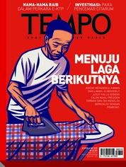 Cover Majalah TEMPO ED 4470 30-06 Mei 2018