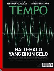 Cover Majalah TEMPO ED 4471 07-13 Mei 2018
