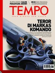 Cover Majalah TEMPO ED 4472 14-20 Mei 2018