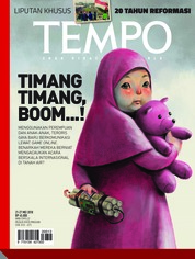 Cover Majalah TEMPO ED 4473 21-27 Mei 2018