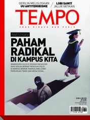 Cover Majalah TEMPO ED 4474 28-03 Juni 2018