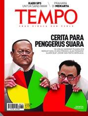 Cover Majalah TEMPO ED 4479 02-08 Juli 2018