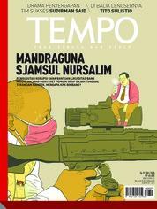 Cover Majalah TEMPO ED 4481 16-22 Juli 2018