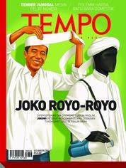 Cover Majalah TEMPO ED 4484 06-12 Agustus 2018