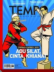 Cover Majalah TEMPO ED 4485 13-19 Agustus 2018
