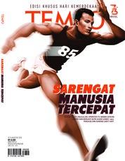 Cover Majalah TEMPO ED 4486 20-26 Agustus 2018