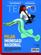 Cover Majalah TEMPO ED 4491 24-30 September 2018