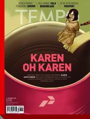 Cover Majalah TEMPO ED 4492 01-07 Oktober 2018