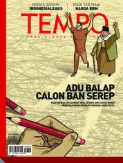 Cover Majalah TEMPO ED 4494 15-21 Oktober 2018