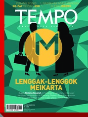Cover Majalah TEMPO ED 4495 22-28 Oktober 2018