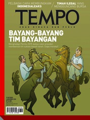 Cover Majalah TEMPO ED 4496 29-04 November 2018