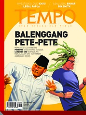 Cover Majalah TEMPO ED 4504 24-30 Desember 2018
