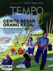 Cover Majalah TEMPO ED 4505 31-06 Januari 2019