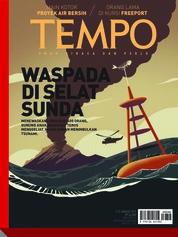 Cover Majalah TEMPO ED 4506 07-13 Januari 2019