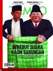 Cover Majalah TEMPO ED 4514 04-10 Maret 2019