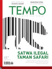Cover Majalah TEMPO ED 4519 08-14 April 2019