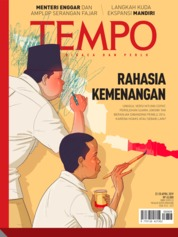 Cover Majalah TEMPO ED 4521 22-28 April 2019