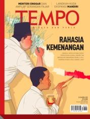 Cover Majalah TEMPO ED 4521 22-28 April 2019