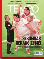 Cover Majalah TEMPO ED 4525 20-26 Mei 2019