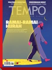 Cover Majalah TEMPO ED 4526 27-02 Juni 2019