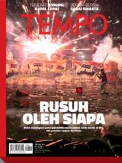 Cover Majalah TEMPO ED 4527 03-09 Juni 2019