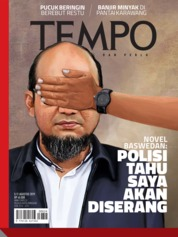 TEMPO ED 4536 Magazine Cover 05-11 August 2019