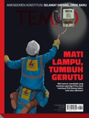 TEMPO ED 4537 Magazine Cover 12-18 August 2019