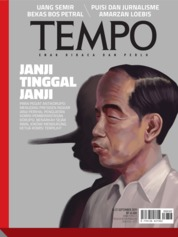 Cover Majalah TEMPO ED 4542 16-22 September 2019