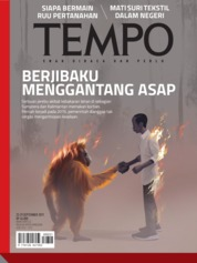 Cover Majalah TEMPO ED 4543 23-29 September 2019
