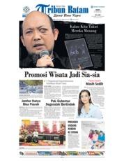 Tribun Batam Cover 23 February 2018