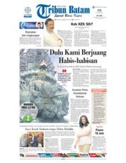Cover Tribun Batam 21 Mei 2018