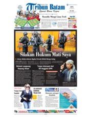 Tribun Batam Cover 26 May 2018