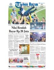 Cover Tribun Batam 16 Juli 2018