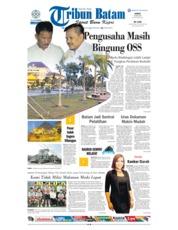 Cover Tribun Batam 20 Juli 2018