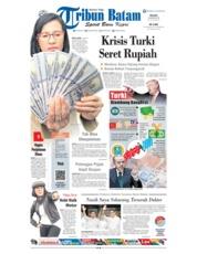 Cover Tribun Batam 14 Agustus 2018