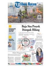 Cover Tribun Batam 15 Agustus 2018