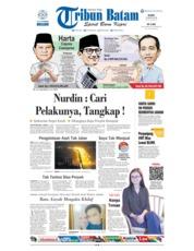Cover Tribun Batam 16 Agustus 2018