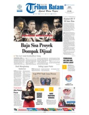 Cover Tribun Batam 17 Agustus 2018