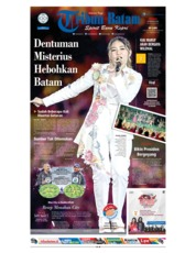 Cover Tribun Batam 19 Agustus 2018