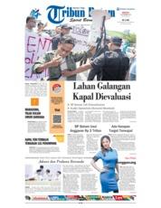 Cover Tribun Batam 23 September 2018
