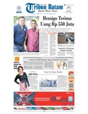 Tribun Batam Cover 19 November 2018