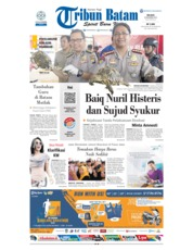 Cover Tribun Batam 20 November 2018