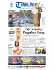 Cover Tribun Batam 21 Januari 2019