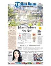 Cover Tribun Batam 17 Februari 2019