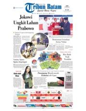 Cover Tribun Batam 18 Februari 2019