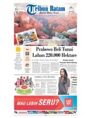 Cover Tribun Batam 20 Februari 2019