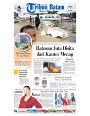Tribun Batam Cover 19 March 2019
