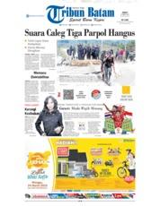 Cover Tribun Batam 22 Maret 2019
